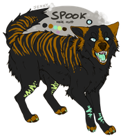 it's a spook! by Kiboku