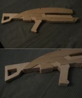N7 Assault rifle - Step 3 by Dan-the-builder
