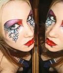 Makeup Design 3 -red- by Ryo-Says-Meow