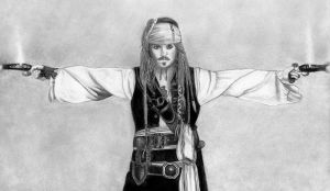 Captain Jack Sparrow by MyEyesFixedOnTheSun