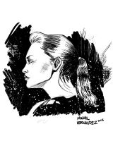 Just a Drawing of a Girl by MannyHernan