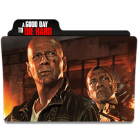 A Good Day to Die Hard Folder Icon by efest