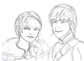 Hiccup And Astrid (GIF) by Crazly