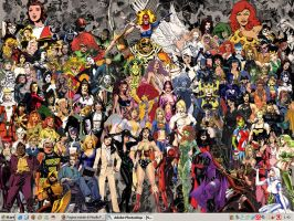 Women of DC wallpaper by Ciro1984