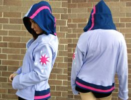 Twilight Sparkle Hoodie by Lisa-Lou-Who