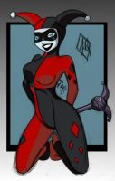 Harley Quinn -coloured by Charly-chan
