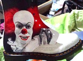 Stephen King Doc Martens - IT by GamerGirl84244