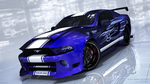 Customized Ford Mustang 3D model by Laggtastic
