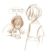 Sketchie thingy 1: Toph by ruby-chan