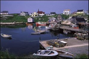 peggy's cove. by parapsychology