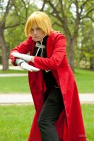 Frontier [Edward Elric] by BlueWingXIII