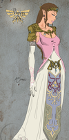 Princess Zelda by alijamZz