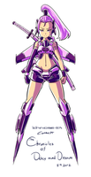 The CoDD: Ichinose-57t Rough Paint by Nsio