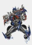 optimus prime by tinec