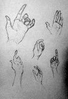 More Hand Sketches by flaming-paperplane