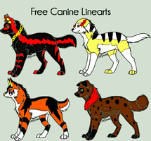 Canine Adopts -SOLD- by DemoniaTheGuardian