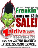 Fri 13th Sale Ad for Zaldiva by joebananaz