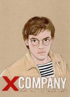 Harry James (X Company Drawing) by julesrizz