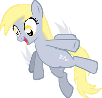 Derpy Hooves credit free vector by poniesfromheaven