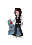 Don't Forget Me, My Sarah Jane by scribblywobbly