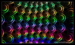 rainbow bubbles by rueD