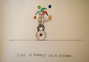 Like a Puppet on a String by Anaponey2000