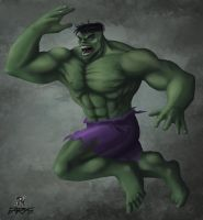 Hulk by traithorz