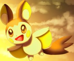 Emolga by Pand-ASS