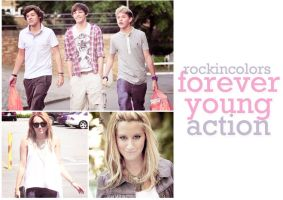 forever young action by rockincolors