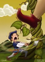 Jack and the beanstalk by Conny-from-France