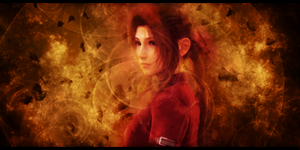 Aerith Signature by MajorasKeyblade