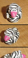 Zebra Duck Charm by HideTheDecay