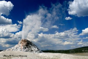 White Dome Geyser by aseaofflames