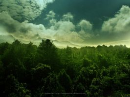 HDR - Landscape Wallpaper by belajarmotret