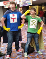X-Ray and Vav by AddictedMenace