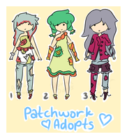 Patchwork Adopts by acidicapple