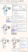 AnTi's Chibi Tutorial: Lineart by Cynphonium