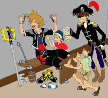 Pirate Kids Get Sora Coloured by babysox