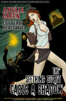Amelia Green Esoteric Detective 3 - commission by CallMePlisskin