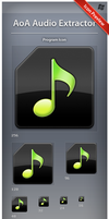 Icon AoA Audio Extractor by ncrow