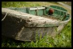 An Old Boat On The Land by ChiaviDiNotti