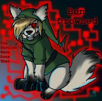 Ben Drowned Wolf Chibi-You Shouldn't Have... by RadioactiveWolf36