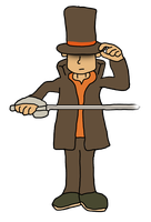 Professor Layton by thepontusandersson