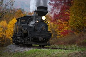 Autumn In Cass, WV (Cass Scenic Railroad) by RDKPhotog