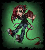 lil demon by Harpyqueen