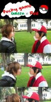 PKMN Red/Green - Pocky Game by Shubloo