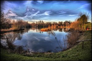 HDR Woodland Waters by Melodysk