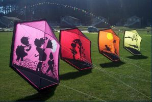 Whidbey Kite Festival I by Photos-By-Michelle