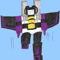 Merry Christmas Skywarp by 28CharactersLater