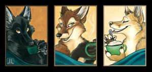 Coffee Vixens by TaniDaReal